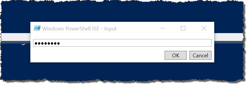 powershell system.management.automation.pscredential example