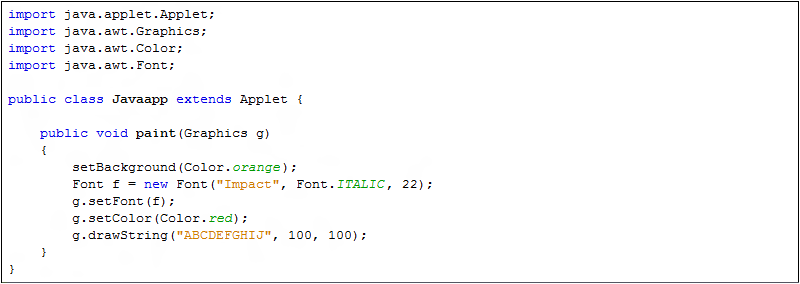 setbounds with color in java awt example