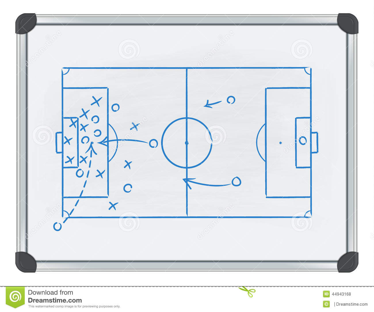 example of a tactic in sport