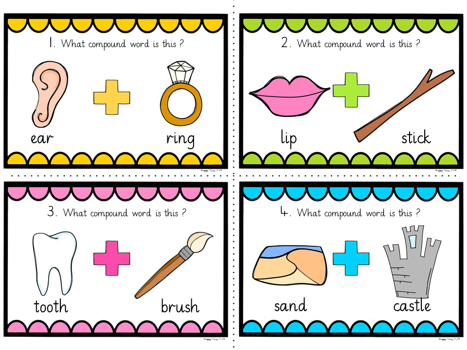 10 example of compound words