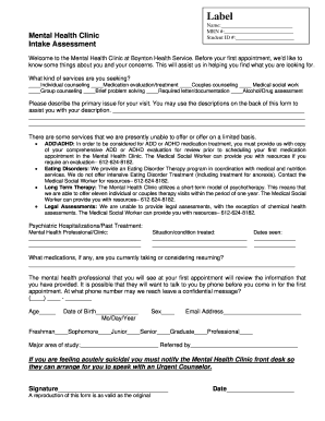 client assessment form example social work