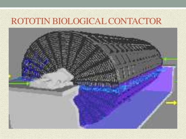 rotating biological contactor design example