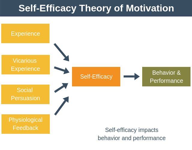 example of self efficacy theory in sport