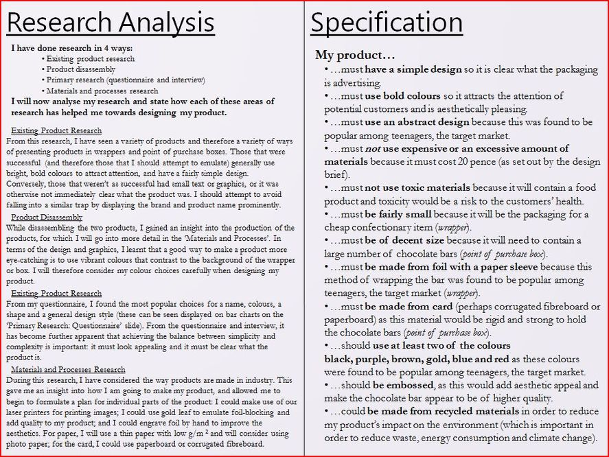 product design specification document example