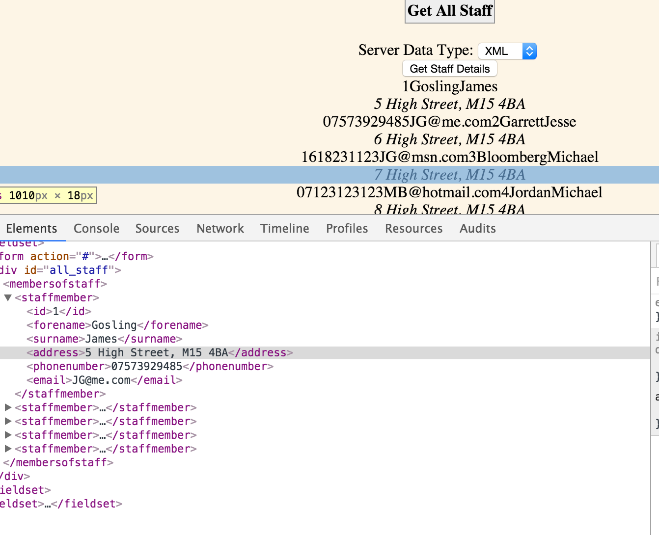 xml to json example in java