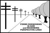 the linear perspective is an example of quizlet