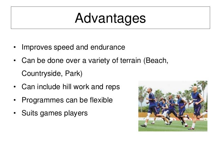an example of fartlek training