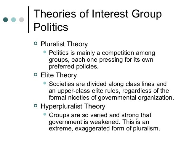 an example of an interest group