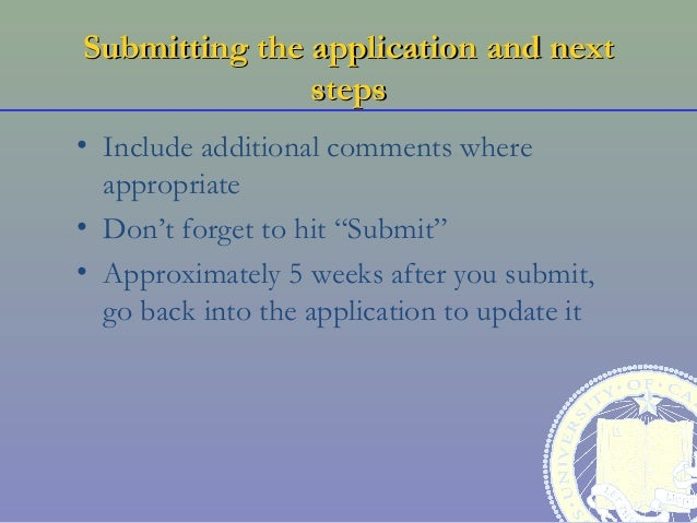 additional comments job application example