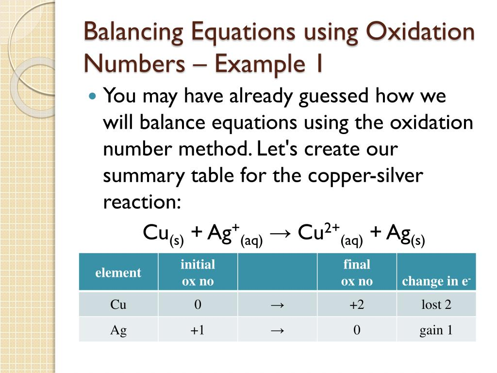 explain redox reaction with example