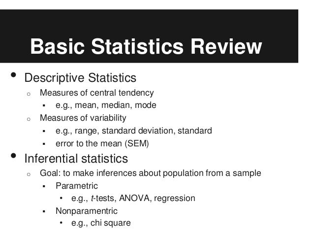 example of inferential statistics in psychology