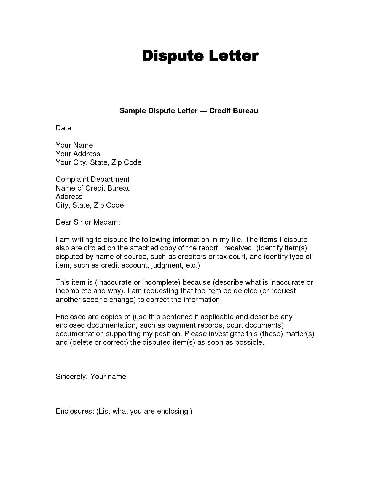 example letter to reply to a car accident