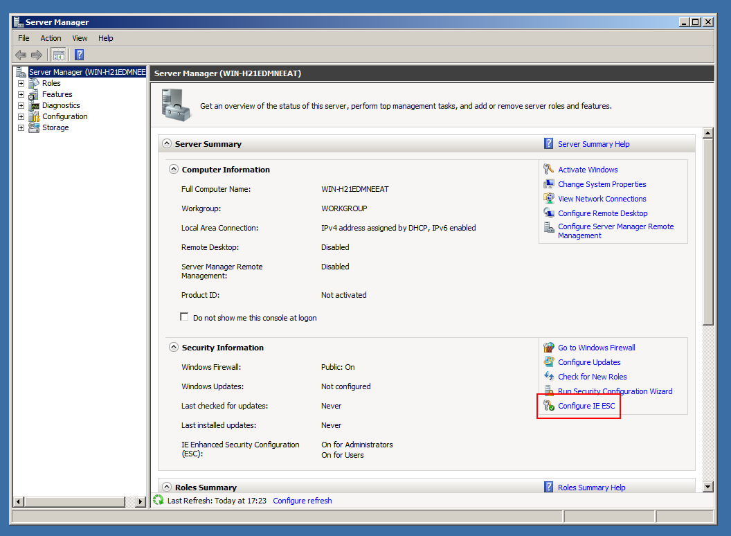 download software dsc example powershell