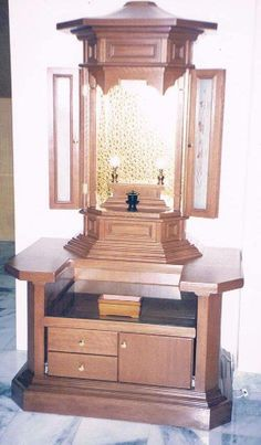example of a glass altar