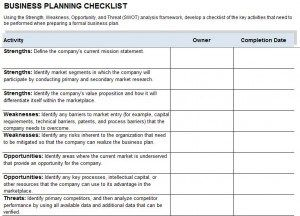 example of busines contninuity plan sucess
