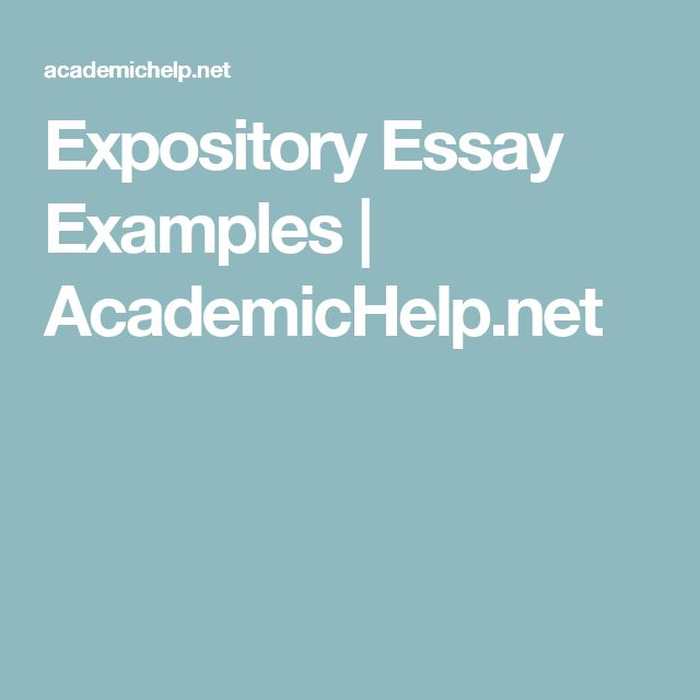 example of expository essay about love