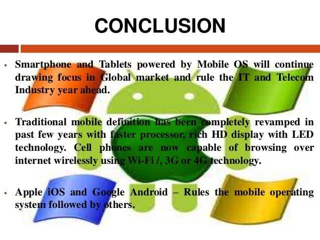 example of mobile operating system