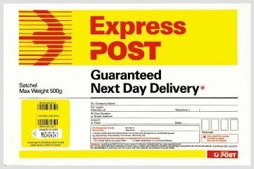 express post tracking number example