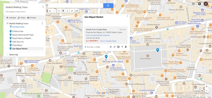 google map multiple markers example