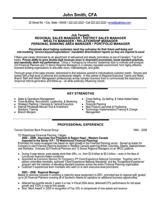 job category on resume example
