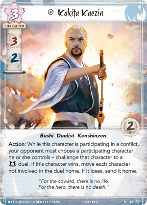 legend of the 5 rings example character
