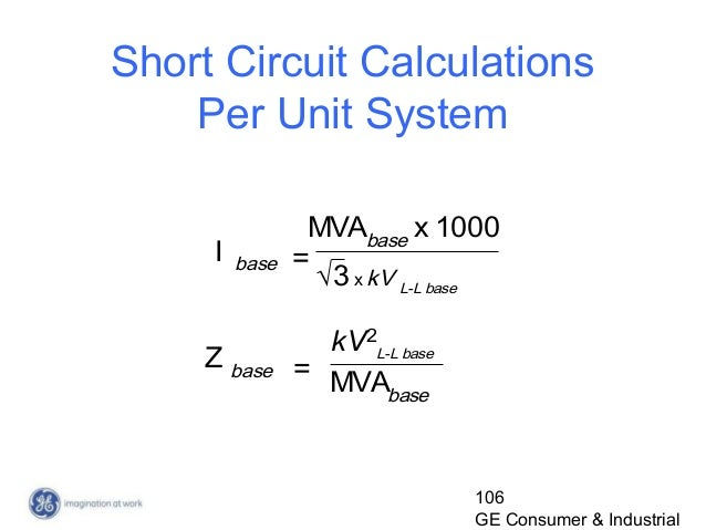 per unit power system example