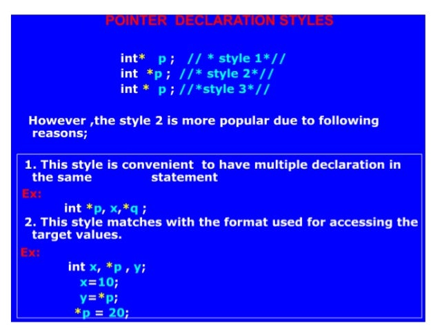 pointers to functions example program in c
