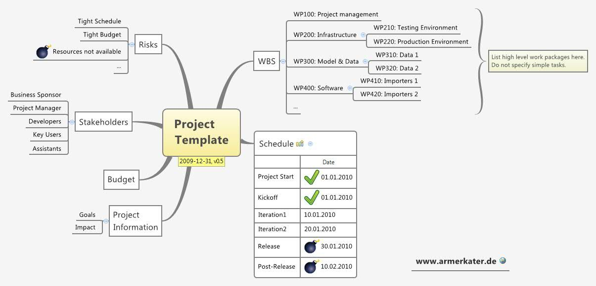project scope of software development example