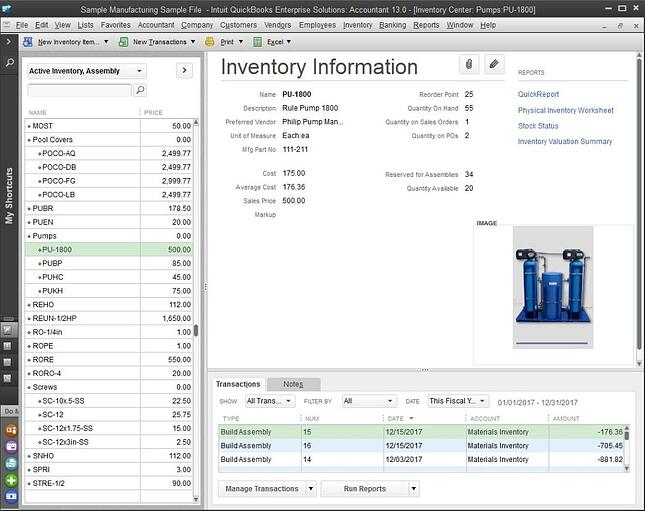 quickbooks is an example of