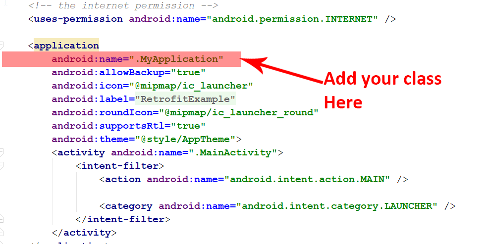 retrofit library example in android